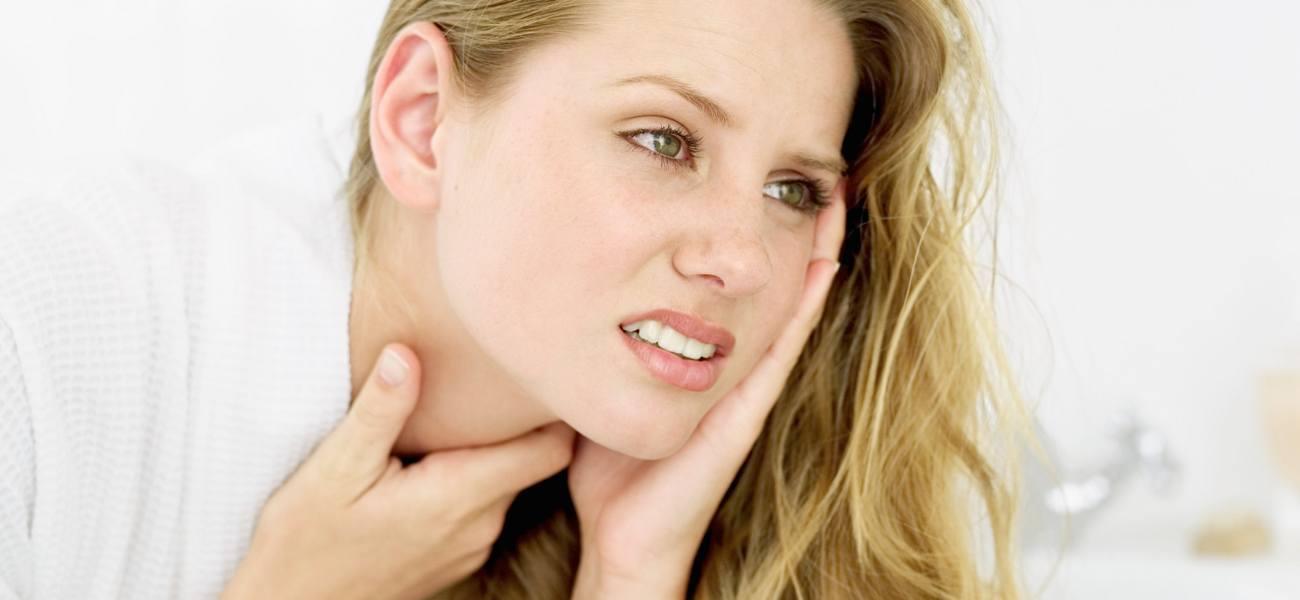 Complications après le mal de gorge